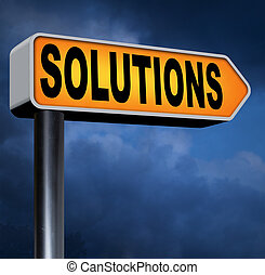 solutions solve problems and search and find a solution to...