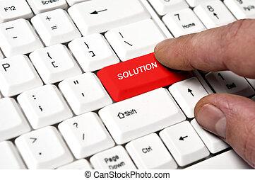 soluzione, chiave