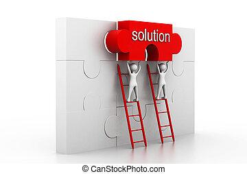 soluzione, concetto