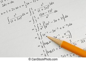 Solve a college Mathematics problem concepts of education