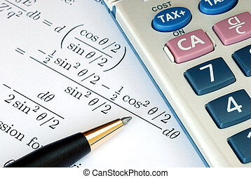 Solve a mathematics question with a calculator