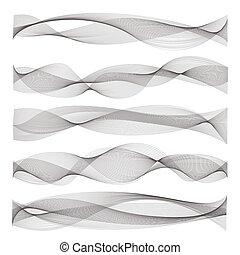 som, abstratos, ondas