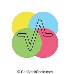 som, ilustração, onda, volume, vetorial, música, áudio