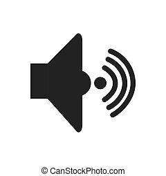 som, volume, áudio