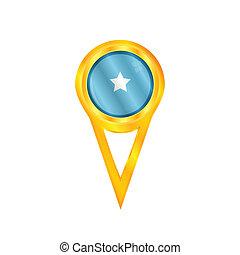 Somalia pin flag