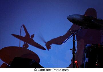 sombra, tambor
