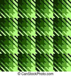 sombra, verde, cheque