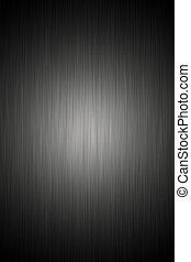 sombre, acier, brossé, texture