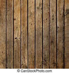 sombre, bois, planche, vecteur, fond