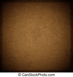 sombre, brun, textile, fond, vendange