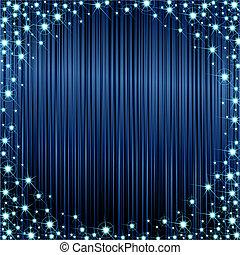 sombre, cadre, sparkly