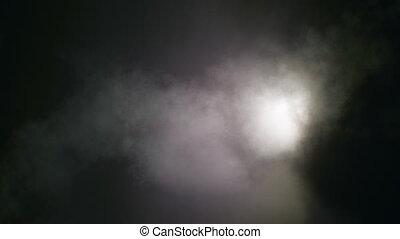 sombre, enfumé, nuages, loopable