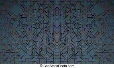 sombre, geometrics, vj