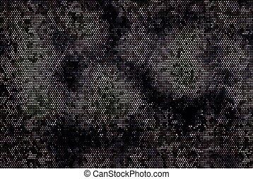 sombre, illustration, scintillement, arrière-plan., vecteur, étoiles, clair