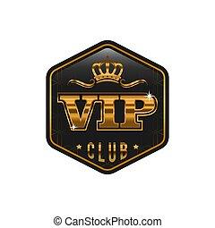 sombre, label., conception, vecteur, luxe, gabarit, doré, carte, vip, prime, ou, étiquette, arrière-plan., template., créatif, invitation