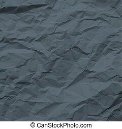 sombre, papier chiffonné, texture
