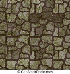 sombre, texture., seamless, pavement.