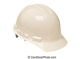 sombrero blanco, duro