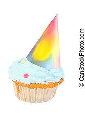 sombrero cumpleaños, cupcake