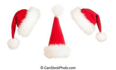sombrero de navidad, santa