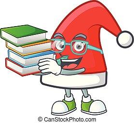 sombrero, libro, estilo, estudiante, mascota, carácter,...