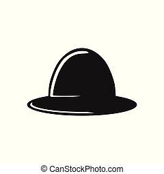 sombrero vaquero, logotipo, diseño, inspiración