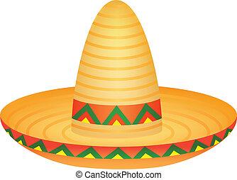 Sombrero - Vector illustration of sombrero hat