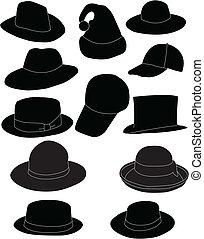 sombreros, colección