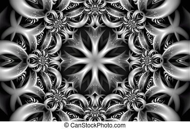 some abstract fractal figure
