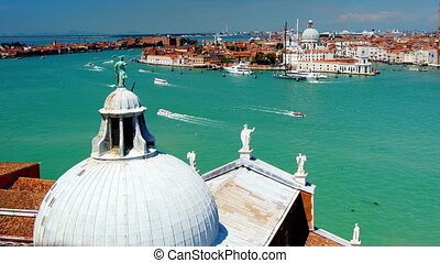 Venice city in Italy, time-lapse