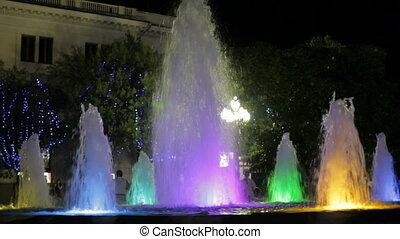 Some beautiful fountains