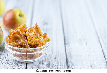 Some dried Pears (selective focus)