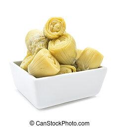 marinated artichoke hearts - some marinated artichoke hearts...
