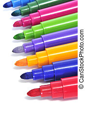 markers of different colors