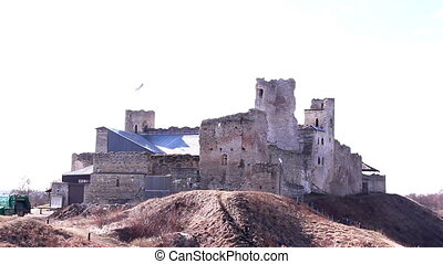 Some of the ruins from the old castle