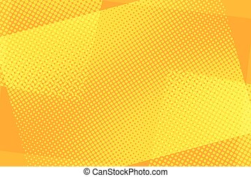 Some orange rectangles abstract retro background