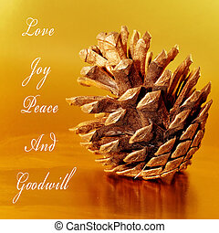 love, joy, peace and goodwill - some wishes, as love, joy, ...