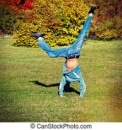 Somersault on the Meadow