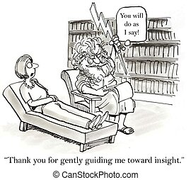 "Sometimes I think you have an agenda - ""Thank you for gently..."