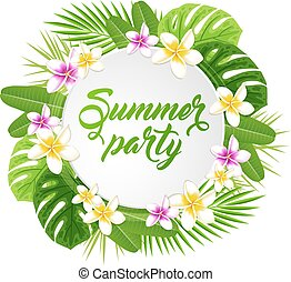 sommar, baner, parti