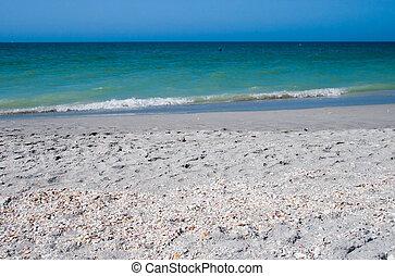 sommar ferier, strand