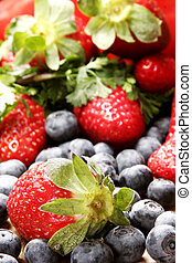 sommar frukt