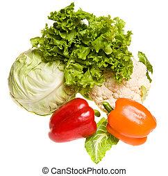 sommar, grönsaken