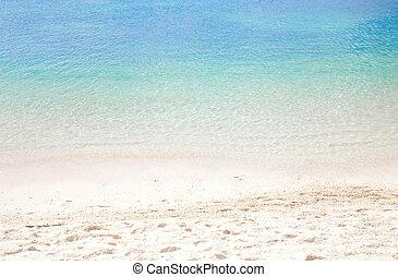 sommar, strand, bakgrund