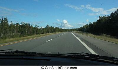 sommer, highway.