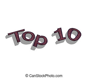 sommet, 10