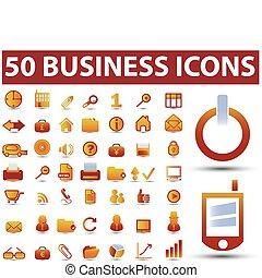 sommet, 50, business, signes