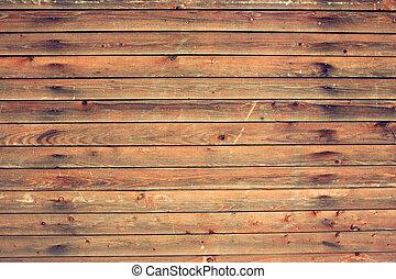 sommet bois, table., vue