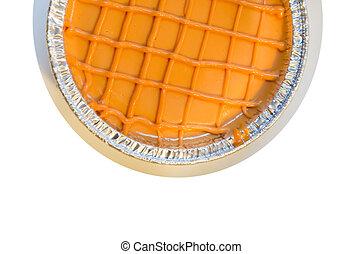sommet gâteau, vue