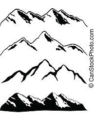sommets montagne